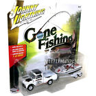 JOHNNY LIGHTNING JLBT004 A GONE FISHING 1965 CHEVY TRUCK 1/64 w BOAT WHITE Chase