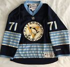 PITTSBURGH PENGIUNS Official Licensed Malkin #71 Hockey Jersey Size Youth SM/MED