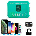 RSIM 12+ 2018 R-SIM Nano Unlock Card fits iPhone X/8/7/6/6s lot 4G LTE iOS 11 12