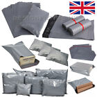 Grey Mailing Bags Self Seal Strong Postage Postal Poly Pack (250x300mm 10