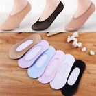 10Pairs Women Invisible No Show Nonslip Loafer Boat Liner Low Cut Cotton Socks J