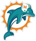 Miami Dolphins NFL Logo Vinyl Decal Sticker - You Pick Size