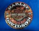"$6.00 Off Round 14"" 1903 Harley Davidson Motorcycles Stone Rust Best Seller 2017"