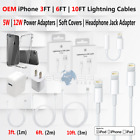 OEM iPhone Lightning Cable USB Charger 3 6 10 FT Adapter 5 6