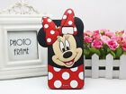 For Samsung Galaxy S6 S7 S8 3D Cartoon Cute Animals Silicone Rubber Phones Case