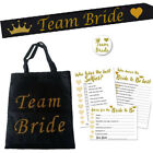 TEAM BRIDE GOODY BAG KIT - HEN NIGHT PARTY DO CARD GAMES SASH BADGE