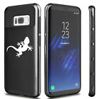 For Samsung Galaxy S5 S6 S7 Edge S8 + Shockproof Hard Case Cover Gecko Lizard