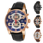 Lucien Piccard Bosphorus Chronograph Mens Watch LP-40045 - Choose color