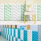 wall protection panels - 3D PE  Foam Thick Self-adhesive Wall Panels Tatami Wall Sticker Protective Decor