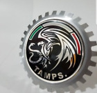 CAR GRILL BADGE EMBLEMS MEXICO, TAMAULIPAS, STATE TAMPS.