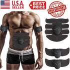 Electric Muscle Toner EMS Machine Wireless Toning-Belt Simulation Abs Fat-Burner image