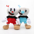 10 Inch Cuphead Game Plush Toy Cuphead & Mugman Mecup And Brocup Figure Doll US