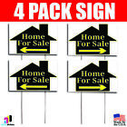4X Hospice For Sale Signs Left Right Arrow Your Phone Number Real Housing Marketing