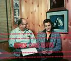 1957 ELVIS PRESLEY with COL PARKER Photo Parkers office in Madison Tennessee
