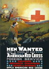 84652 Vintage American Red Cross Recruitment Decor WALL PRINT POSTER CA