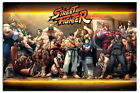 88515 Street Fighter Characters Decor WALL PRINT POSTER UK