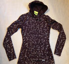 UNDER ARMOUR COLD GEAR INFRARED,STY WARM,HOOD,SWEATE,XS FITTED WOMEN,PLUM EXCELL