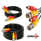 Siamese Cable CCTV Security Camera Wire Power Video Surveillance Cord BNC Lot