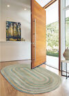 Capel Rugs Alliance Soft Cotton Country Home Braided Blue Opal Rug