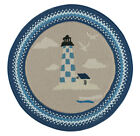 Capel Rugs Anthony Baratta Lighthouse Maritime Country Cottage Braided Rug