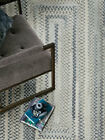 """Capel Rugs """"Alliance"""" Concentric Soft Cotton Silverstone Country Braided Rug"""