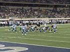 2 OF 4 DALLAS COWBOYS VS WASHINGTON REDSKINS TIX .FRONT ROW.LIKE AISLE SEATS TV on eBay