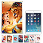 samsung galaxy tab 2 10.1 covers and cases - Disney Beauty and the Beast Pattern Silicone Case Cover For Samsung Apple iPad