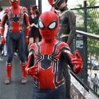 Ltimate Spider-Man Homecoming Jumpsuit Iron Spiderman Cosplay Costume Uniforms