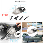 Universal Portable Car Cordless Vacuum Cleaner For Dry&Wet Use High Power 120W