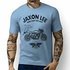 JL Ride Triumph Thruxton 1200 illustration Motorbike Art T-shirts $25.83 USD on eBay