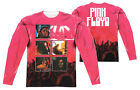 "Pink Floyd ""Live"" Dye Sublimation Double Sided Long Sleeve Tee"