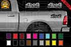 2x Dodge Ram 4x4 Off Road 1500 2500 Dakota Truck Decal Set Vinyl Stickers