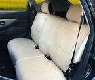 100% PU Leather Non-Slip Rear Car Seat Cushion Covers for Dodge 255R Tan $39.95 USD on eBay