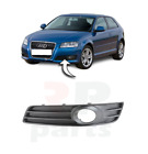 NEW AUDI A3 08-12 FRONT BUMPER LOWER GRILLE WITH FOG LIGHT HOLE LEFT NS