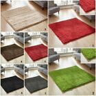 NEW SMALL TO LARGE RUG THICK 5CM PILE MODERN SHAGGY RUG WAREHOUSE CLEARANCE SALE