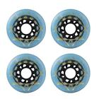 4 Pcs Outdoor Inline Roller Skates Skating Replacement 88a PU Wheel 72/76/80