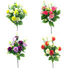 Rose Spring Artificial Flower Bush 10 Head | Use Indoor And Outdoor