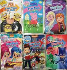 KIDS COLORING GRAB & GO PLAY PACK FROZEN/ PEPPA PIG/ DESPICABLE M3/ PATROL PAW