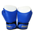 Boxing Gloves Fightting Gloves Abrasion-Resistant Soft 3 Color PU Fitness
