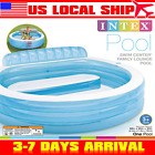 Intex Swim Center Family Lounge Pool swimming pools for kids New free shipping