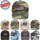 Military Tactical Operator USA American US Flag Low Profile Hunting Outdoor Cap