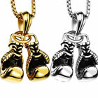1pc Boxing Glove Zinc Alloy Chain Pendant Necklace Fashion Gift Gold /Silver