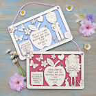 Personalised Gift for Teacher and Assistant Plaque Thank you Leaving School Term