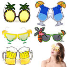 Hawaii Beach Pineapple Sunglasses Yellow Beer Flamingo Cocktail Funny Gift Party