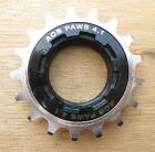 FreeWheel 14t 15t 16t 17t 18t BMX ACS Paws Single Speed Bike Gear Black/Nickel