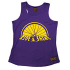 Ride And Shine Cycling funnyáBirthdayáWOMENS GIRLIE TRAINING VEST