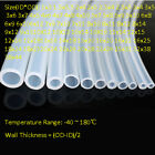 Clear Food Grade Silicone Tube Beer Brew HIGH TEMP Flexible Hose -All Sizes&Len
