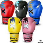 New Boxing Gloves Sparring Gloves Punch Bag MMA Training Mitts Black All Sizes