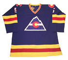 Colorado Rockies Customized Hockey Jersey NHL