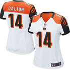 Nike Andy Dalton Cincinnati Bengals Game NFL Jersey #14 New Womens Small $43.31 USD on eBay